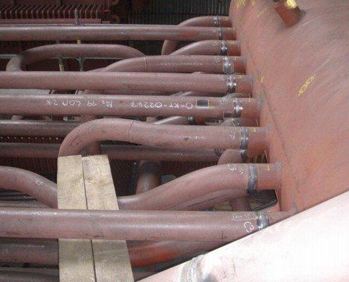 Prevádzacie potrubie kotlového telesa Ø139,7x11mm