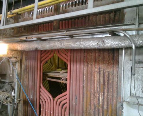 Ersatzteilen seitlichen Membranwände der Brennkammer
