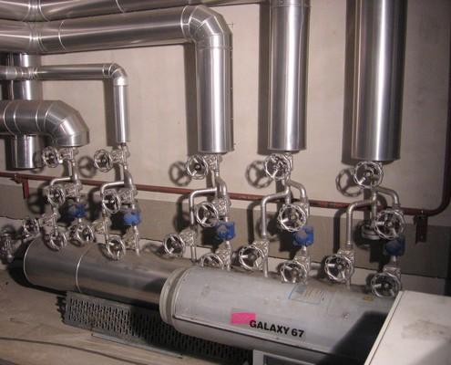 High-Batterie Entwässerung