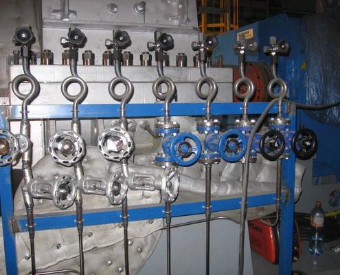 Pulsrohr Messung bei 8,45 MW-Turbine