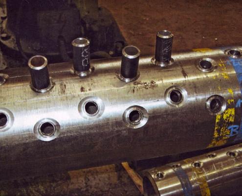 Výroba komory z materiálu X10CrMoVNb9-1 (P91) u výrobcu LKH Holter s.r.o. Rychnov u JN, ČR