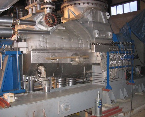 8,45 MW Kondensationsturbine