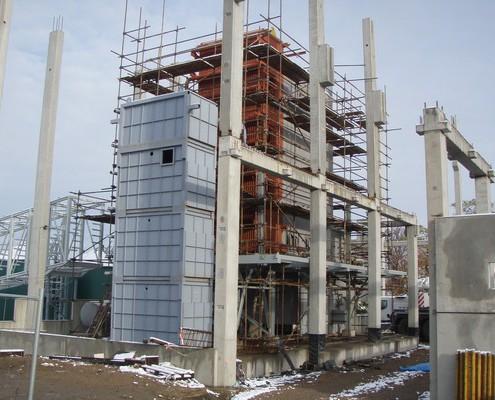 Installation von bio-Kessel Dampfleistung 26 t/hod., 460 °C, 45 bar