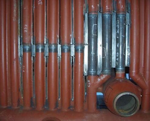 Časť bočnej membránovej steny Ø 60,3x5mm