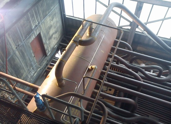 Connecting pipe boiler body