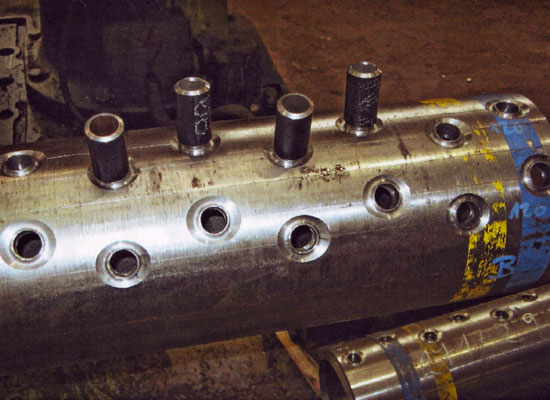 Production Chamber of material X10CrMoVNb9-1 (P91) in LKH Holter Ltd. Rychnov u J / N, Czech Republic