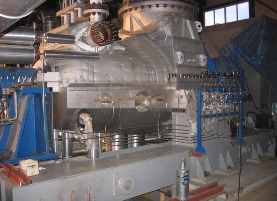 Condensing turbine - 8.45 MW