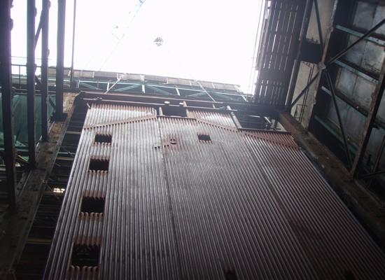 BSide wall membrane boiler