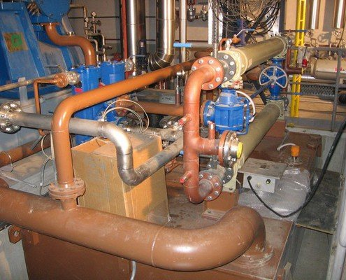 Olejové hospodárstvo k turbíne 8,45MW