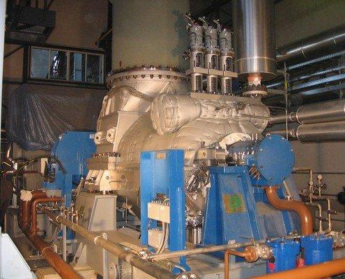Kondenzačná turbína 8,45MW