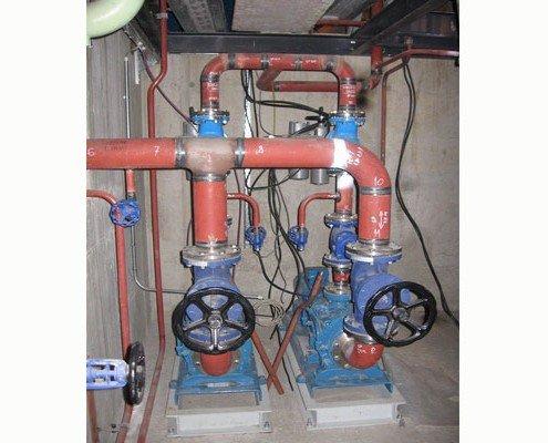 Čerpadlá kondenzátu z kondenzátora